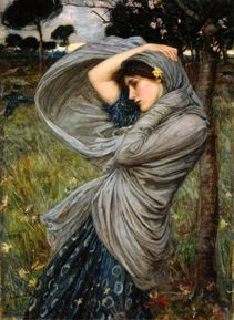 John William Waterhouse - Boreas.