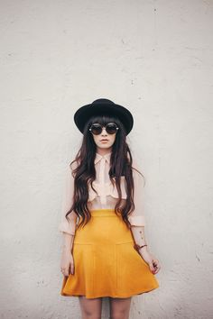 Don't know why but I love anything in mustard yellow!