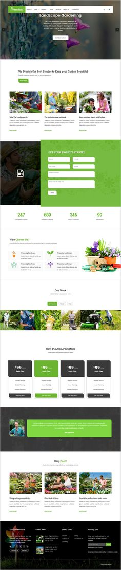 Greenland is a responsive 2in1 #WordPress theme build for #Groundskeepers, #Landscape Architects, #Gardening Business,  Lawn Services Business, Landscaping Companies, Florists or Agriculture companies website download now➩ https://themeforest.net/item/greenland-gardening-landscaping-shop-blog-wordpress-theme/17090453?ref=Datasata
