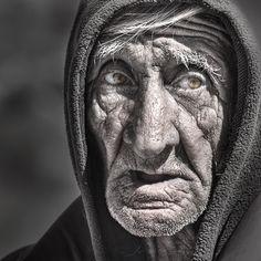 El hombre de la Quebrada de las Conchas. Salta, Argentina.