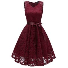 Feitong Vintage Lace V Neck Dress Summer Women Princess Floral Lace Dress Cocktail Birthday Party Aline Swing Dress Vestidos /PY - Vicky Lim Beauty Elegant Midi Dresses, Elegant Dresses For Women, Lace Bridesmaid Dresses, Prom Dresses, Lace Dresses, Vintage Dresses, Lace Dress Styles, Summer Dresses, Formal Dresses