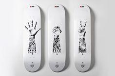 Shifumi skateboard decks #tattoos #arms #board
