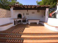 Casa de vacaciones con barbacoa, bbq, de obra en Jávea, Costa Blanca