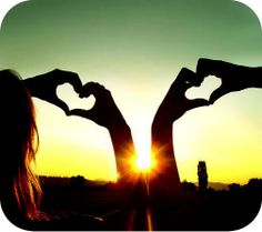Love is about heart
