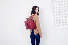 The Maestra Bag, in Merlot | SENREVE
