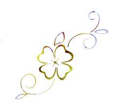 four leaf clover tattoos | email Melokia Designs