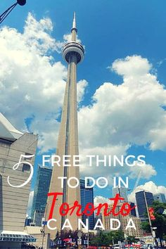 5 Free Things To Do in Toronto, Ontario, Canada with Kids - The World Is A Book