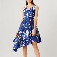 68b578cc1dc Coast Palm Jacquard Dress Size 24 rrp 169 LS079 JJ 12  fashion  clothing
