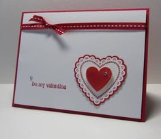 QFTD151 honoring Queen Susan using Stampin' Up Hearts a Flutter.