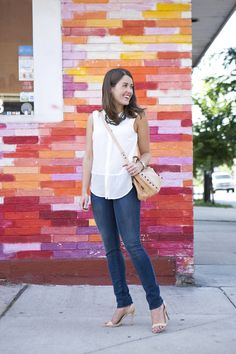 Shop the look: J Brand Photo Ready Jean in Eclipse c/o  //  Joie…