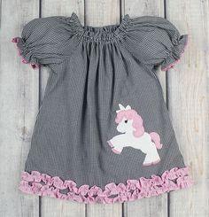 Stellybelly Unicorn Stella Puff Sleeve Dress
