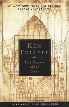 One of my favorites.  I never thought that 976 pages could be so packed with adventure, especially in the Middle Ages.  Ken Follet pulls it off in his best work and he even manages to make it full of life lessons.  I love this book!