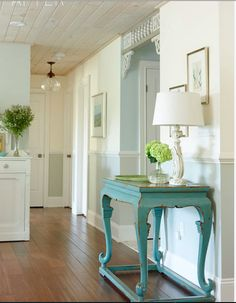 From Sarah Richardson - using several wall colors in an open concept house