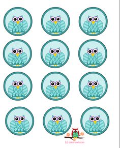 http://cute-owl.com/owl-party-cup-cake-toppers.html