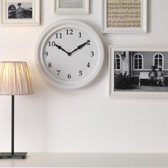 It's time to update your walls with a fun and stylish new clock. This is BRAVUR, and it comes in black too.