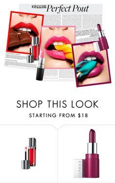 """""""Perfect Pout"""" by natalie-wee ❤ liked on Polyvore featuring beauty, Oris, La Femme, Maybelline, Clinique, MAC Cosmetics and summerlipstick"""