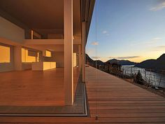 Fil Rouge Architecture Genève - Architecte Genève - CV Windows And Doors, Designer, Villa, Stairs, Sky, Frame, Projects, Lugano, Home Decor