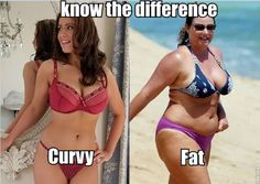 curvy vs fat know the difference