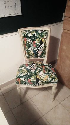 Chaise rénovée Bordeaux, Accent Chairs, Vintage, Furniture, Home Decor, Refurbished Chairs, Upholstered Chairs, Decoration Home, Room Decor