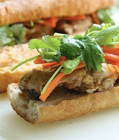 Chicken Satay Banh Mi