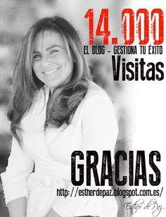 Sólo vosotros sois los protagonistas ¡Muchas GRACIAS amigos!♥ http://estherdepaz.blogspot.com.es/