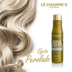 #mulpix O melhor matizador do Brasil, em três diferentes versões! Gold - Para um lindo tom perolado www.lecharmesprofissional.com.br Compras em atacado: distribuidor@lecharmesprofissional.com.br  #fabricadecabelosbrancos  #loirodossonhos  #loiroperfeito  #loiro  #platinadoperfeito  #blond  #blondehair  #blondegirls  #lecharmes  #diva  #hairstyle  #hair  #instagood  #intensycolor