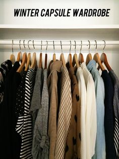 great example of a capsule wardrobe.