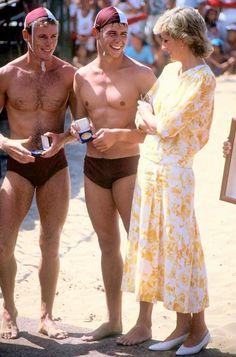 Princess Diana in Australia, 1988