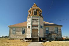 Shaniko, OR, a revitalized ghost town situated along Hwy. 97, north of Antelope.