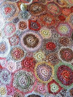 Sophie Digard crochet purse - detail