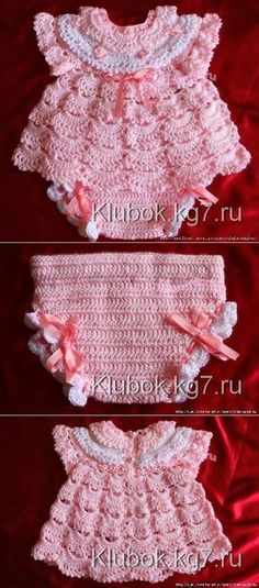 Months Crochet Baby Layers Dress Baby Dress Layers by SuziesTalentPatterns Crochet Baby Mittens, Crochet Kids Hats, Crochet Bebe, Crochet Girls, Crochet Baby Clothes, Simple Crochet, Blanket Crochet, Crochet Socks, Baby Knitting Patterns