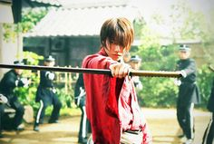 Takeru as Kenshin
