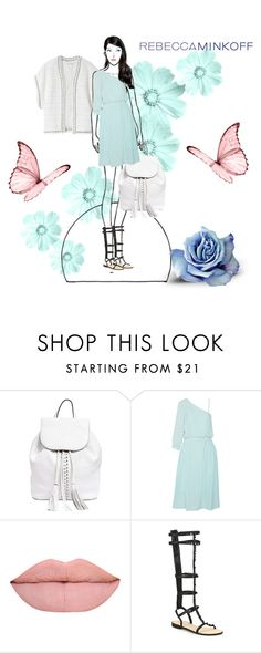 """""""Rebecca Minkoff"""" by southindianmakeup1990 ❤ liked on Polyvore featuring Rebecca Minkoff, Amrapali, women's clothing, women, female, woman, misses, juniors, contestentry and seebuywear"""