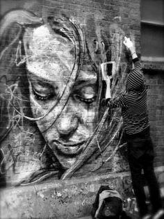 Street art LiberatingDivineConsciousness.com