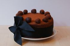Sinful Chocolate Simnel Cake