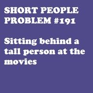 its the worst.. Or even at my church! its like... seriously? they should order the rows from shortest families to tallest.