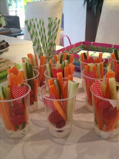 Healthy snacks for kids party