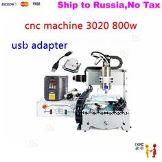948.10$  Buy here - http://aliscd.shopchina.info/1/go.php?t=32800936908 - (NO TAX TO Russia) cnc router kit desktop wood lathe machine 3020 with 800w spindle and USB adapter 948.10$ #buyininternet