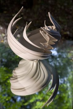 Jennifer McCurdy Reflection, Wheel Thrown Porcelain
