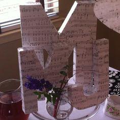 Wedding shower centerpiece