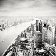 Shanghai Black/White Photography by Martin Stavars