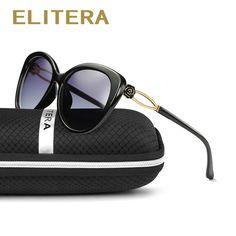 f88f75b2a7 ELITERA Fashion Brand Cool Sunglasses Women Sun Glasses Butterfly Mirror Eyewear  women Goggles Occhiali da sole UVA UVB