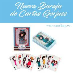 ¿Jugamos a las cartas con Gorjuss? ♠️♥️Divertida Baraja de Cartas Gorjuss con 52 naipes a todo color con las imágenes de nuestras adorables muñequitas y 2 cartas comodín. #sueshop_es #gorjuss #santorolondon #barajadecartas #baraja #cartas #naipes #juegos #diversion #sueshop
