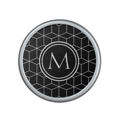 Elegant  Monogram Bluetooth Speaker