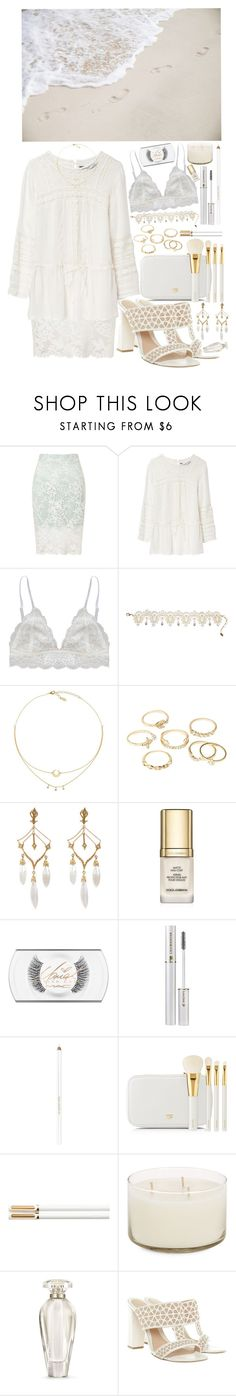 """""""take me away across the ocean <3"""" by loveselena22 ❤ liked on Polyvore featuring Miss Selfridge, Zara, Humble Chic, Amrita Singh, Charlotte Russe, Cathy Waterman, Dolce&Gabbana, MAC Cosmetics, Lancôme and Tom Ford"""