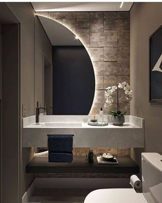 Washroom Design, Toilet Design, Bathroom Design Luxury, Bathroom Modern, Home Room Design, Dream Home Design, Home Interior Design, House Design, Interior Architecture
