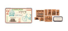 Francaise stamps by Cavallini