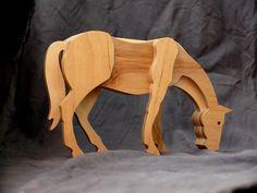 Houten paard houten speelgoed paard beeldje paard speelgoed Collectible figuurtjes paard decor multiplex mare standbeeld verjaardag geschenken multiplex mare Houten paard zal een aardige toevoeging aan uw collectie en verbazingwekkende gift van de verjaardag! Houten paard bestaat uit vijf lagen van multiplex. Het paard heeft een beschermende bovenlaag van een acryl waterbasis lak. Houten paard afmetingen: lengte - 8.9 (225 mm), hoogte - 5.5 (140 mm), dikte - 1.9 (47 mm). Het ontwerp is…