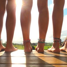 Barefoot with anklets. Joys of summer! Summer 3, Summer Of Love, Summer Nights, Summer Vibes, Summer Legs, Summer Skin, Just Girly Things, Girl Things, Girly Stuff