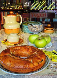 La foresta incantata: Ciambella alle Mele, Yogurt e Cannella (Apple Cake with Yogurt and cinnamon)